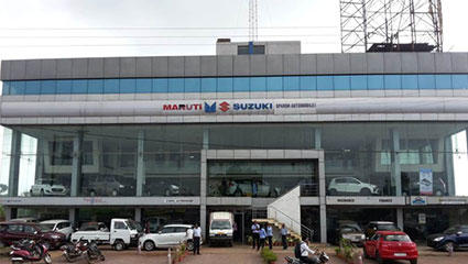 About Sparsh Automobiles GE Road